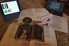 prepping to teach Julius Caesar