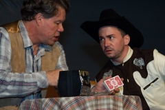as Virgil (left) in Bus Stop (Elite Theatre Company)