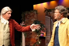 as Antonio (right) in Much Ado About Nothing (Camarillo Skyway Playhouse)